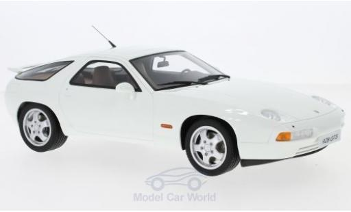 Porsche 928 1/18 GT Spirit GTS blanche miniature