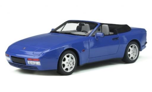 Porsche 944 1/18 GT Spirit Turbo Carbriolet S2 bleue 1989 miniature