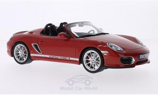 Porsche Boxster 1/18 GT Spirit (987) Spyder red diecast model cars