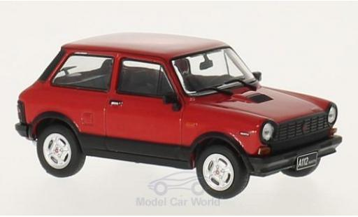 Autobianchi A112 1/18 GTI Collection Abarth rouge/noire 1979 miniature