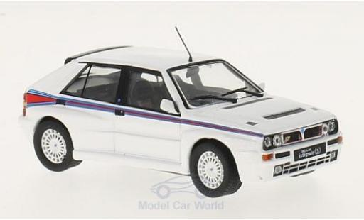 Lancia Delta 1/43 GTI Collection Integrale Martini blanche/Dekor 1992 miniature