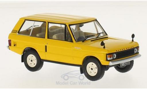 Land Rover Range Rover 1/18 GTI Collection 3.5 jaune RHD 1970 miniature