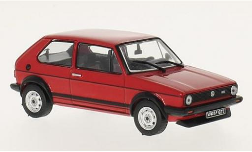 Volkswagen Golf 1/43 GTI Collection 1 GTI red 1978 diecast model cars