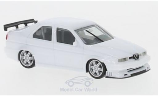 Alfa Romeo 155 1/87 Herpa Rennsport blanche miniature
