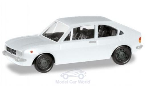 Alfa Romeo Alfasud 1/87 Herpa blanco miniatura