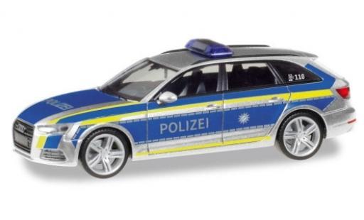 Audi A4 1/87 Herpa Avant Polizei Ingolstadt diecast model cars