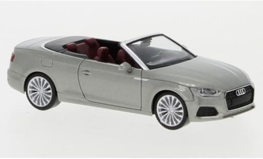 Audi A5 1/87 Herpa Cabriolet metallise beige coche miniatura