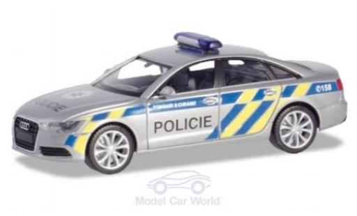 Audi A6 1/87 Herpa Polizei Prag miniature