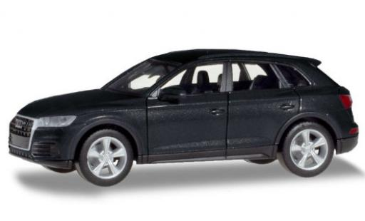 Audi Q5 1/87 Herpa metallise gris coche miniatura