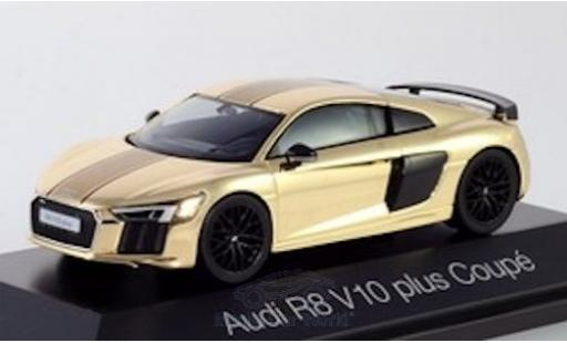 Audi R8 1/43 Herpa V10 Plus gold miniature