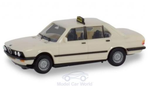 Bmw 528 1/87 Herpa i Taxi (D) modellautos