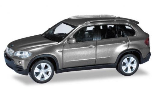 Bmw X5 1/87 Herpa metallise grey diecast model cars