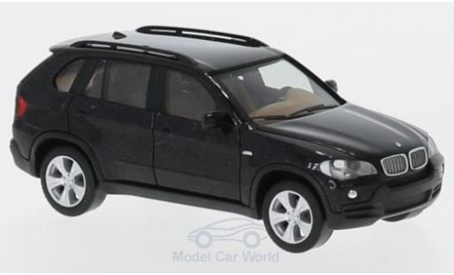 Bmw X5 1/87 Herpa metallise black diecast model cars
