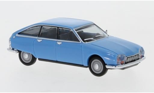 Citroen GS 1/87 Herpa blue diecast model cars