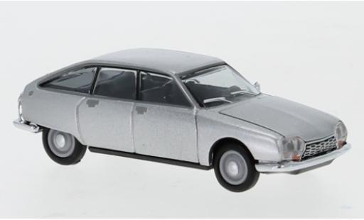 Citroen GS 1/87 Herpa grey diecast model cars
