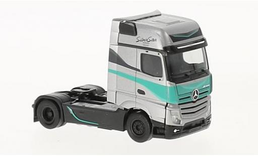 Mercedes Actros 1/87 Herpa Gigaspace Silver Star Silver Star Edition (NL) tracteur coche miniatura