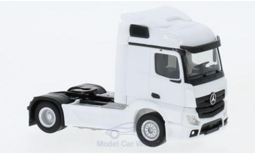 Mercedes Actros 1/87 Herpa Streamspace 2.3 white 2018 2-achs Zugmaschine diecast model cars