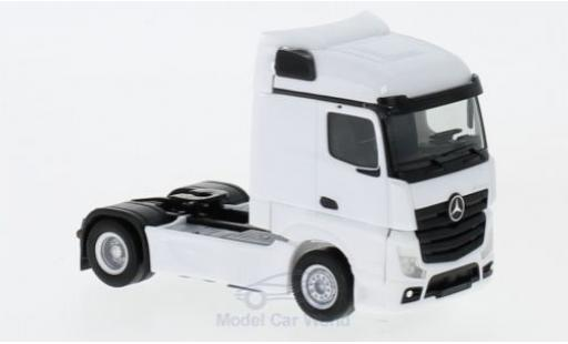 Mercedes Actros 1/87 Herpa Streamspace 2.5 blanche 2018 Zugmaschine miniature