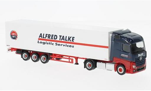 Mercedes Actros 1/87 Herpa Streamspace Alfred Talke Camion réfrigérée-SZ diecast model cars