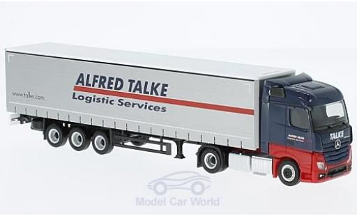 Mercedes Actros 1/87 Herpa Streamspace Alfred Talke Gardinenplanen-SZ diecast model cars