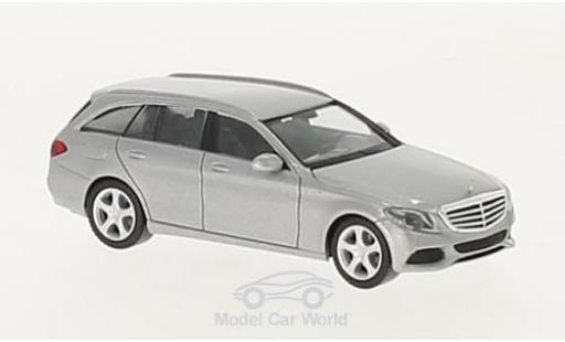 Mercedes Classe C 1/87 Herpa T-Modell (S205) Elegance grise miniature