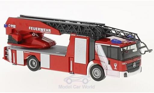 Mercedes Econic 1/87 Herpa Drehleiter Feuerwehr Landshut miniature