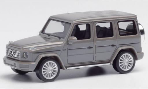 Mercedes Classe G 1/87 Herpa grise avec AMG-jantes miniature
