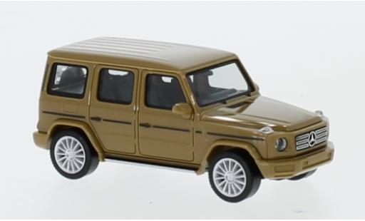 Mercedes Classe G 1/87 Herpa brown avec AMG-jantes diecast