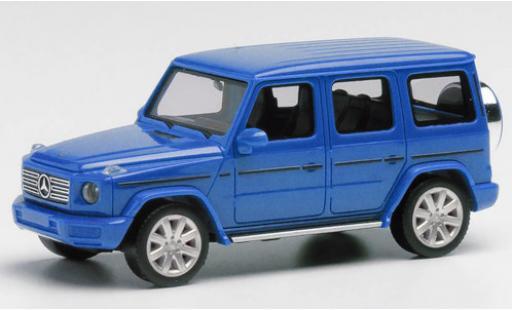 Mercedes Classe G 1/87 Herpa metallise blue diecast model cars