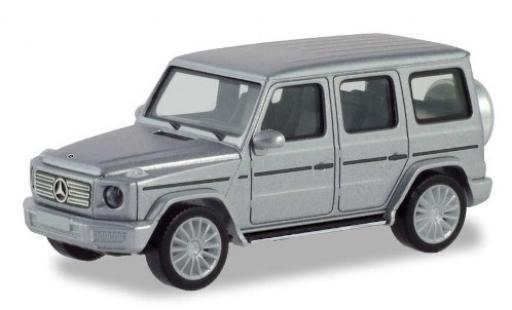 Mercedes Classe G 1/87 Herpa metallise grise avec AMG-jantes miniature