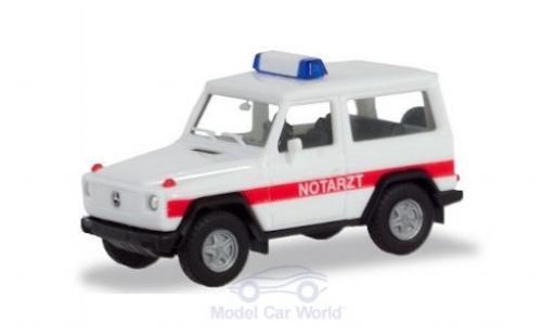 Mercedes Classe G 1/87 Herpa G-Modell Notarzt miniature