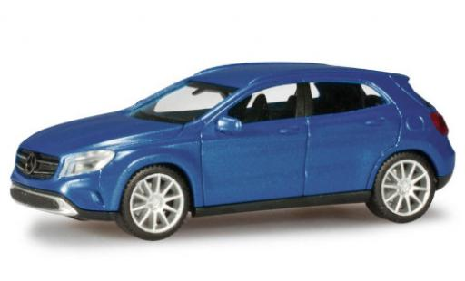 Mercedes Classe GLC 1/87 Herpa GLClasse A (X156) metallise blue diecast model cars