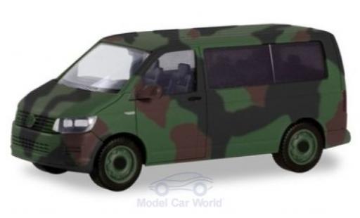 Volkswagen T6 1/87 Herpa Military Bus Bundeswehr miniature