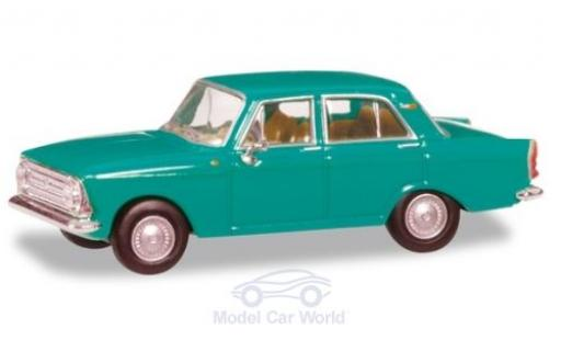 Moskwitsch 408 1/87 Herpa türkis modellautos