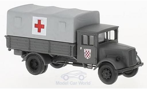 Opel Blitz 1/87 Herpa Sanitäts-LKW der Einsatzkräfte Kroatiens miniature