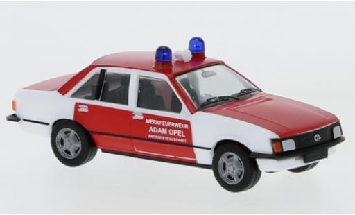 Opel Rekord 1/87 Herpa E Werkfeuerwehr Adam AG diecast model cars