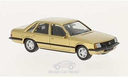 Opel Senator 1/87 Herpa gold miniature