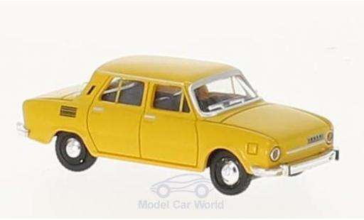 Skoda 110 1/87 Herpa L jaune miniature