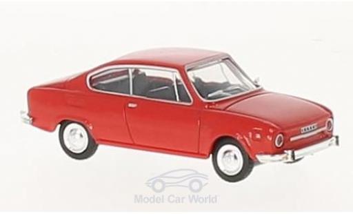 Skoda 110 1/87 Herpa R red diecast model cars