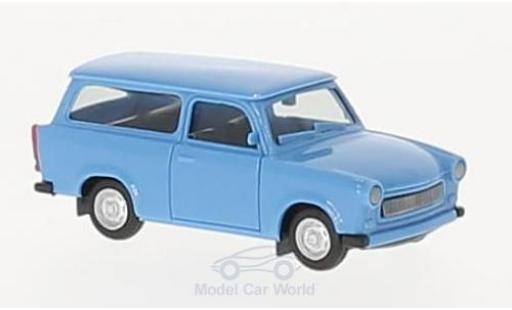 Trabant 601 1/87 Herpa S Universal bleue miniature