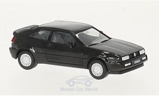Volkswagen Corrado 1/87 Herpa noire H-Edition miniature