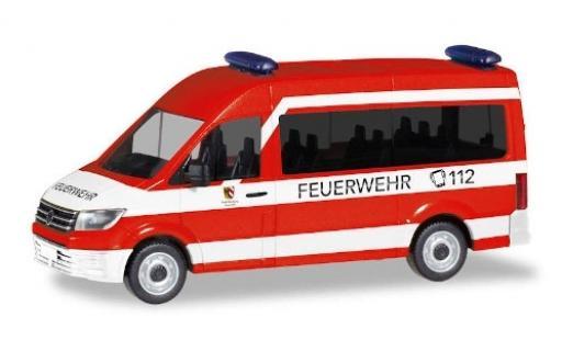 Volkswagen Crafter 1/87 Herpa BUS HD MTW Feuerwehr Nürnberg-Neundorf diecast