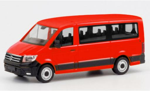 Volkswagen Crafter 1/87 Herpa FD Bus red diecast model cars