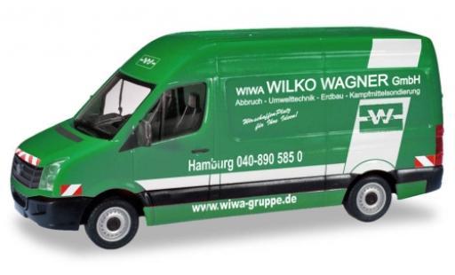 Volkswagen Crafter 1/87 Herpa Kasten HD Wilko Wagner Hamburg modellautos