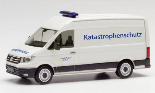 Volkswagen Crafter 1/87 Herpa Katastrophenschutz Städteregion Aachen toit surélevé fourgon diecast model cars