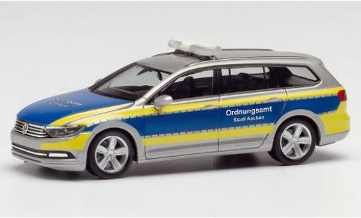 Volkswagen Passat 1/87 Herpa Variant Ordnungsamt Aachen coche miniatura