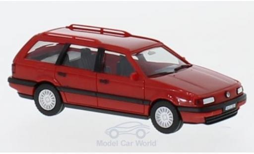 Volkswagen Passat 1/87 Herpa Variant rouge H-Edition miniature