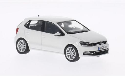 Volkswagen Polo 1/43 Herpa V (6C) blanche 2014 5-portes miniature