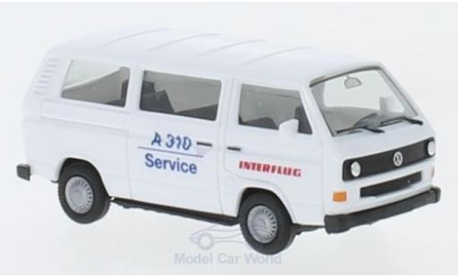Volkswagen T3 1/87 Herpa Bus Interflug miniature