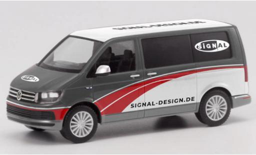 Volkswagen T6 1/87 Herpa Bus Signal Design diecast model cars